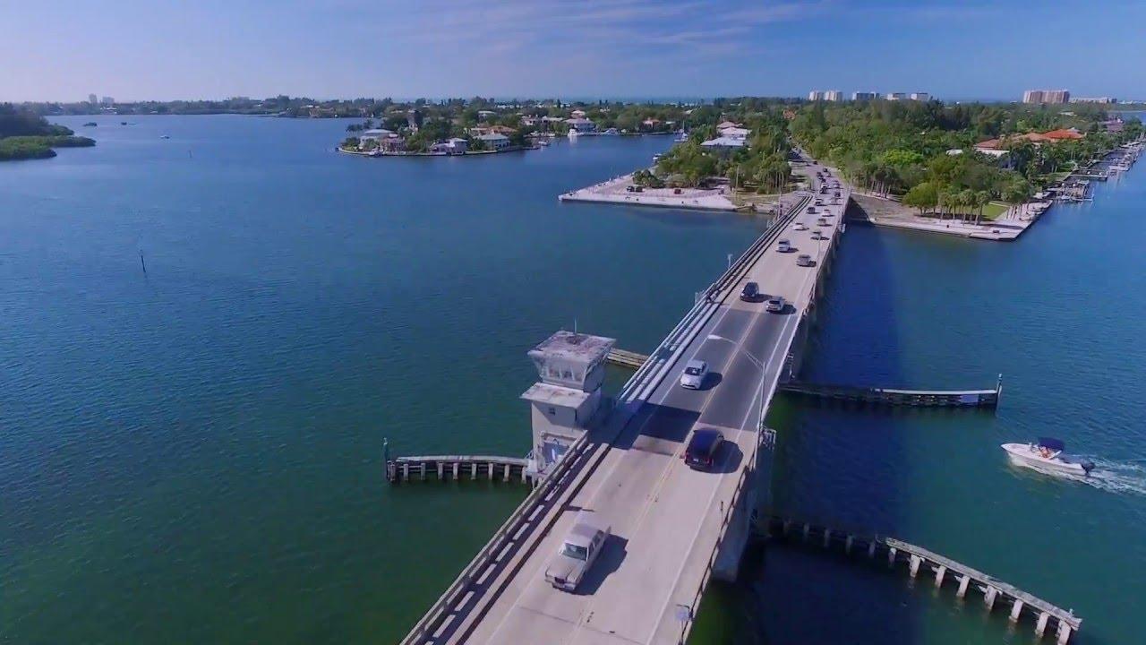 SIESTA KEY DRONE AERIAL VIEW - YouTube