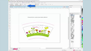 How to create the printing image for conical mugs with CorelDRAW