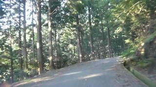 藤越の・・・一部区間(三重県道 151号・度会大宮線)