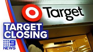Dozens of Target stores to shut down | Nine News Australia