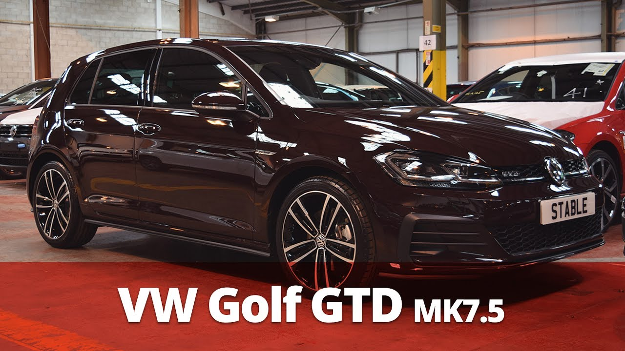2018 vw golf gtd mk7 5 walkaround black rubin 4k doovi. Black Bedroom Furniture Sets. Home Design Ideas