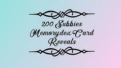 200 Subbie Memorydex Card Entry 13 from Tiina Nirhamo
