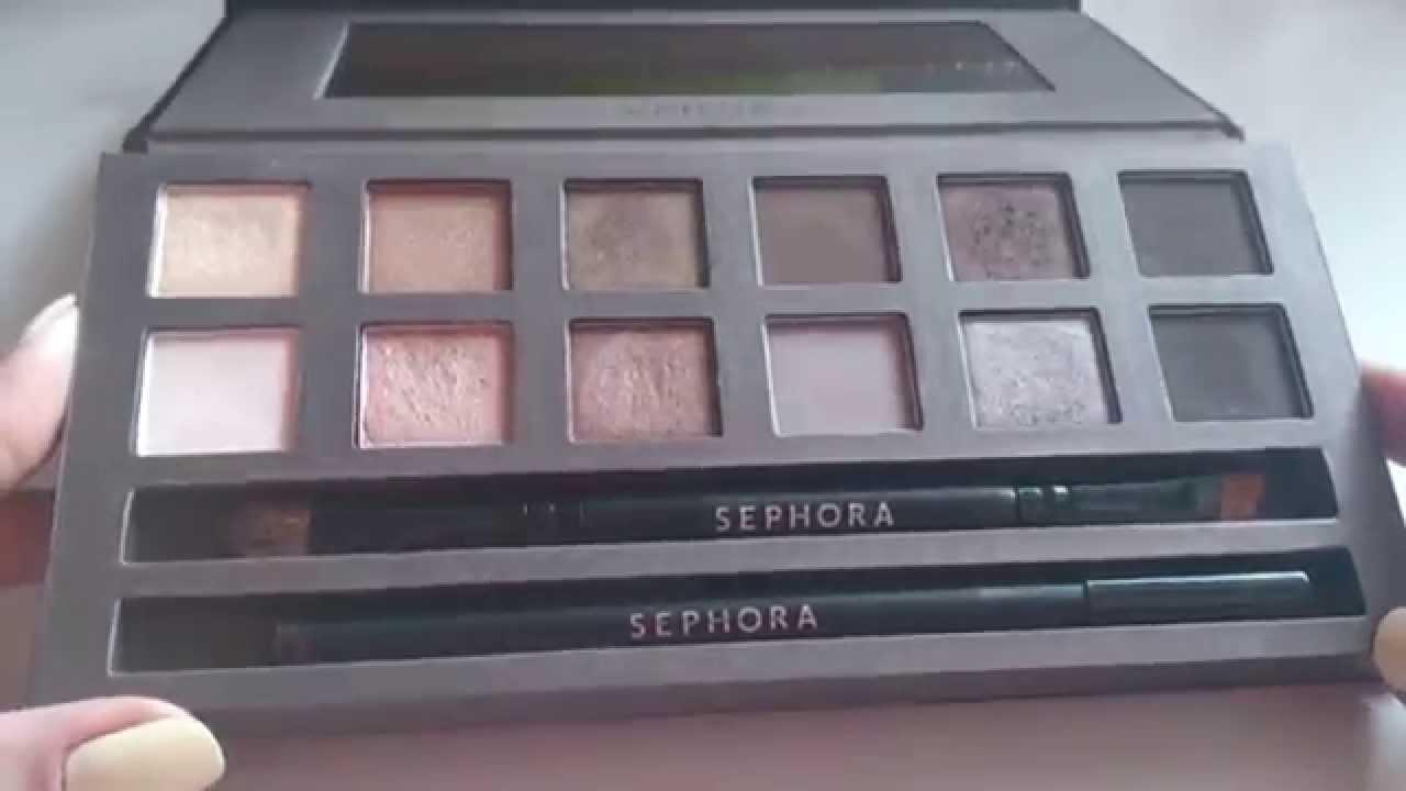 палетка макияжа infinity nude sephora
