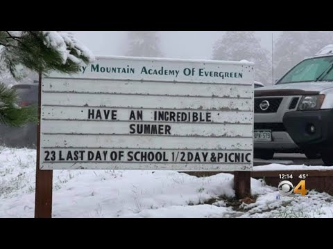 Snowy Situation On Last Day Of School In Evergreen Forces Picnic Cancellation