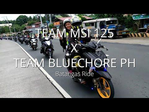Team MSI 125 Team Bluecore PH - Batangas Ride