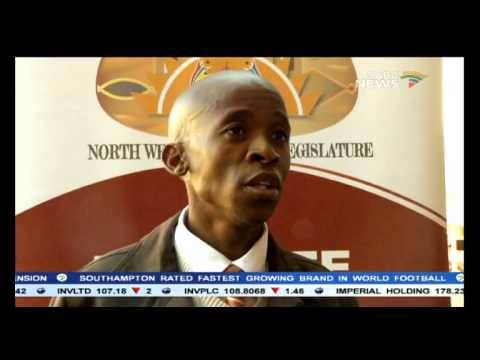 The north west government has honoured gift kelehe youtube the north west government has honoured gift kelehe negle Choice Image