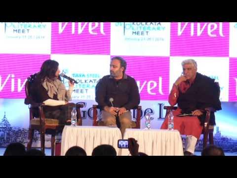 Javed & Zoya Akhtar at Tata Steel Kolkata Literary Meet 2016
