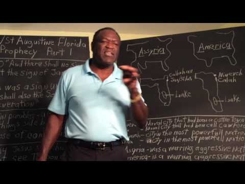 Jacksonville/St. Augustine Florida in Bible Prophecy Part 1