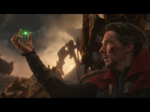 Strange Gives Thanos The Time Stone HD | Avengers: Infinity War (2018)