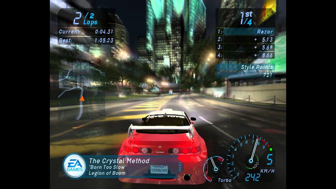 Need For Speed Underground Acura Integra Race Youtube