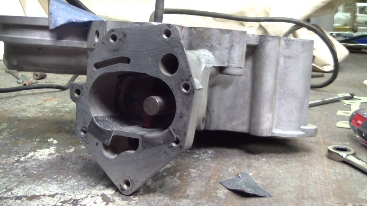 AMC Timing Cover Oiling Modifications V8