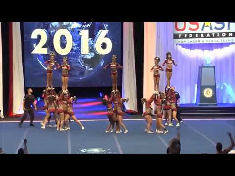 Fire and Ice Allstars- 5 Alarm Worlds 2016 Semis (With Music)