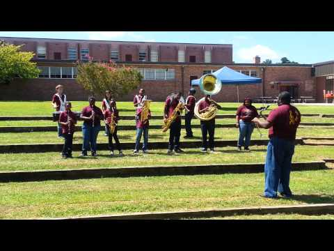 Bethune Bowman Middle High School (Back to School Performance 2013)