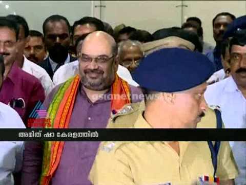BJP chief Amit Shah to visiting Kerala