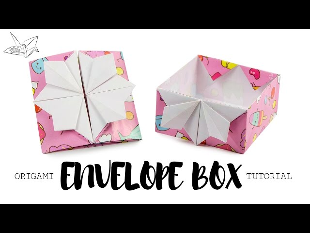 Origami Pop Up Box / Envelope Tutorial ♥︎ DIY ♥︎ Paper Kawaii