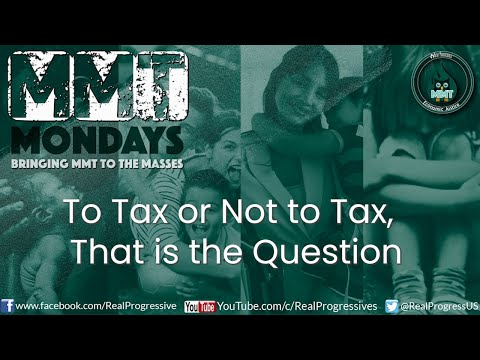 To Tax Or Not To Tax, That is the Question