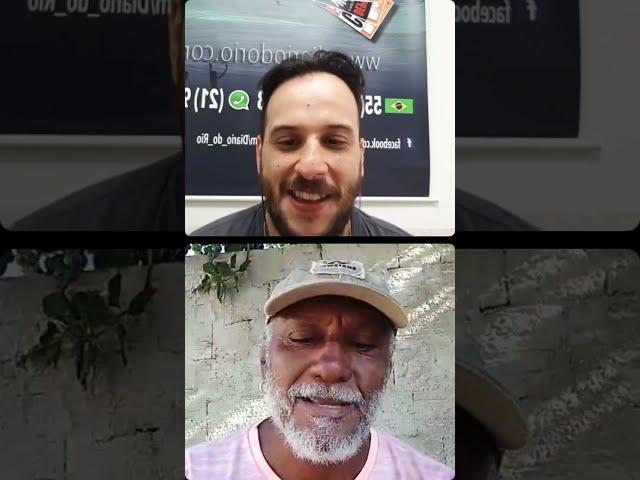 Live com o pintor Jorge Santos
