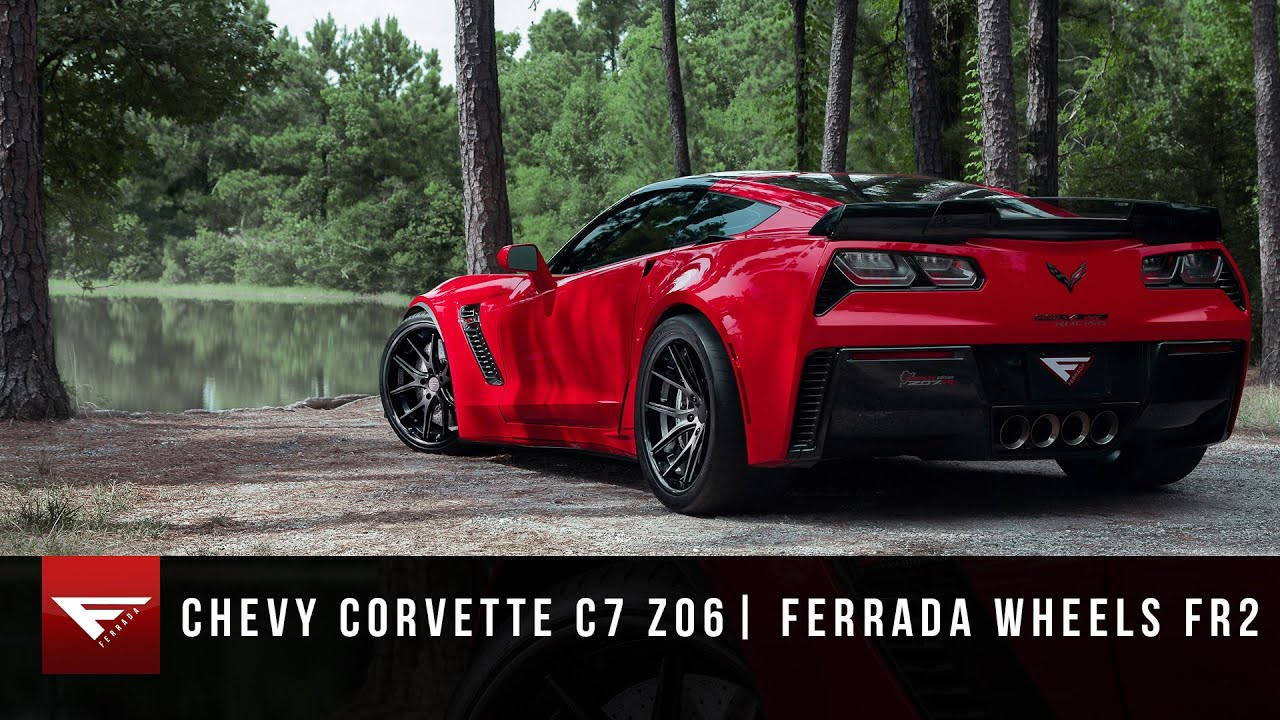 Z07 >> 2015 Corvette C7 Z06 | Ferrada Wheels FR2 | Z07 - YouTube