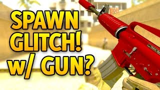 Spawn Glitch With Weapon In CSGO? Overwatch!