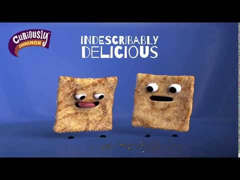 2020 Curiously Cinnamon Crave those Crazy Squares Advert