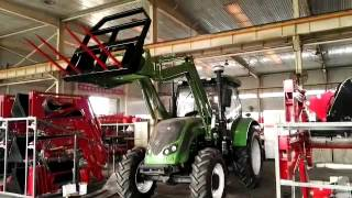 high quality farm wheeled tractor for sale with fork lift