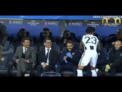 Si odias a Dani Alves Ver este video (Reacción Juventus vs FC BARCELONA)