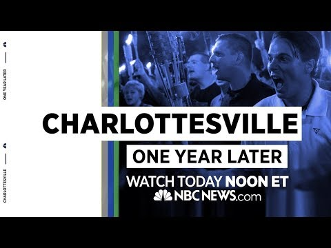 Charlottesville: One Year Later   NBC News