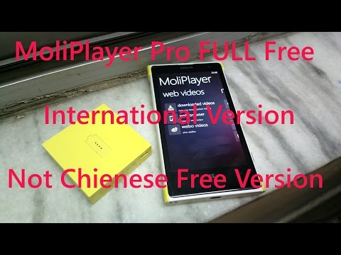 MoliPlayer Pro Full For Windows Phone Official ( Not Chienese Version )  : Genuine 100% Working