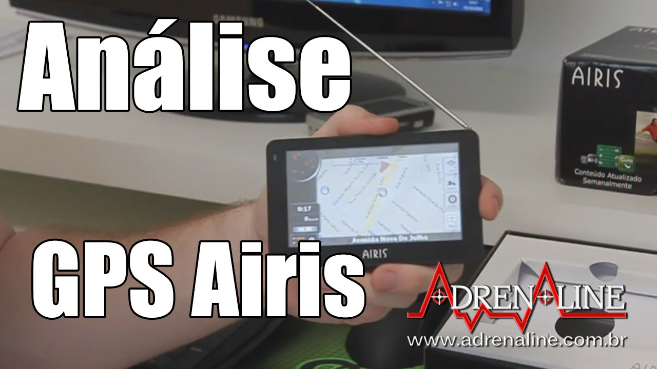Adrenaline Video Review: GPS Airis D430