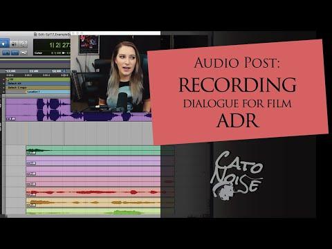 Film Audio: Recording ADR in Pro Tools