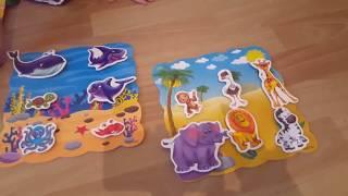 """Vladi Toys развивающая игра """"больше чем мир животных """" развивающие игры для детей мир животных"""