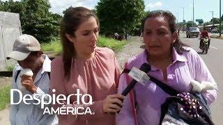 Con mucha fe la caravana migrante continúa su camino hacia EEUU