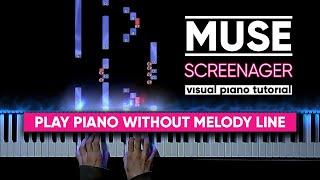 Muse - Screenager (Visual Piano Tutorial)