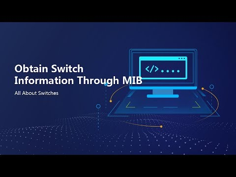 HUAWEI S Series Switch-config SNMP And Obtain Switch Information Through MIB