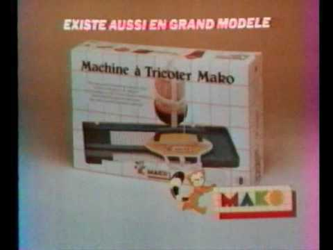 pub machine tricoter mako 1983 youtube. Black Bedroom Furniture Sets. Home Design Ideas