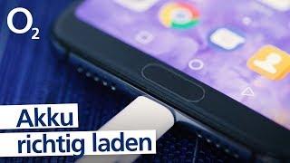 Smartphone Tricks - So lädst du deinen Handy Akku richtig auf