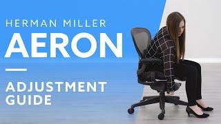 How-To: Adjust The Heŗman Miller Aeron Chair