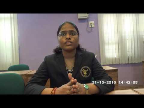 Asmitha Murukuti @AITS, Rajampet-what i want you to know