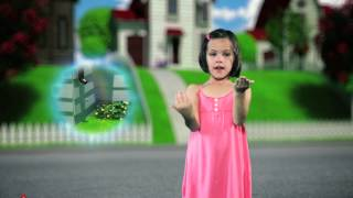 Itsy Bitsy Spider in ASL - Animated, learn how to sign