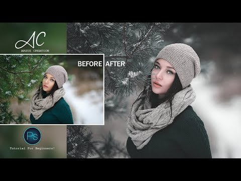 Photoshop Tutorial Dark Moody Color Grading Action In Photoshop CC Action Free Download!
