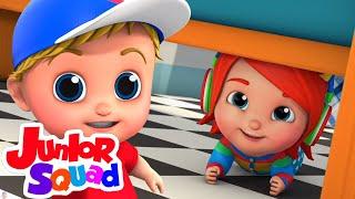 Ciluk ba | Lagu anak anak terpopuler | Animasi | Junior Squad Indonesia | Bayi sajak