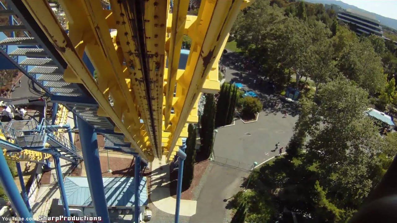 Invertigo (HD POV) California\'s Great America - YouTube
