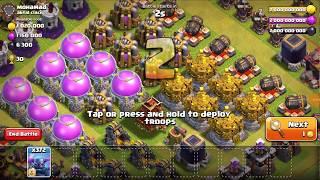 Biggest Raid in Clash of Clans Biggest Loot in Clash of Clans
