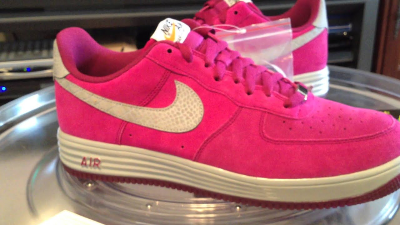 purchase cheap 48ebc 77f8c ... Nike Lunar Force 1 Reflect - LF-1 - Raspberry Red Reflect Silver - 10  ...