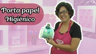 Como fazer um porta papel higiênico impermeabilizado – Passo a passo