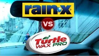 Rain-X VS Turtle Wax, does Rain-X really work?