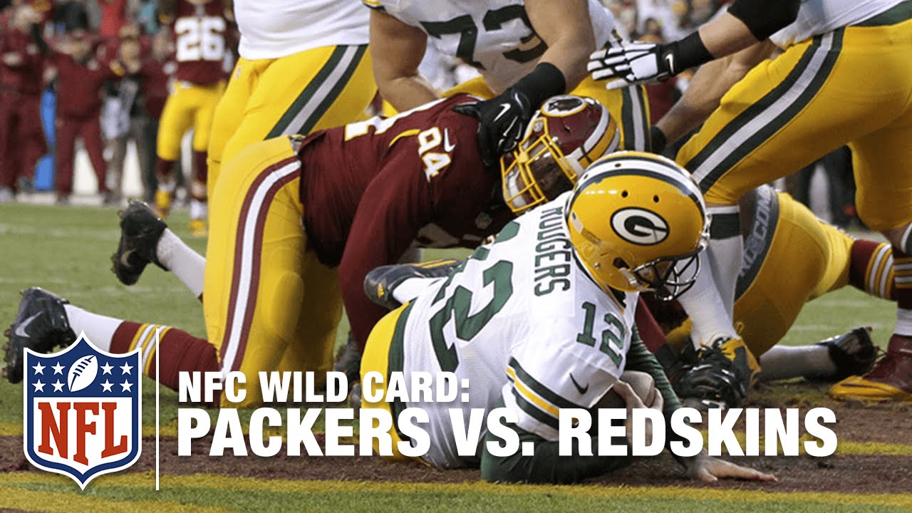 Preston Smith Bull Rushes Aaron Rodgers for Big Safety!  d221c6dd2