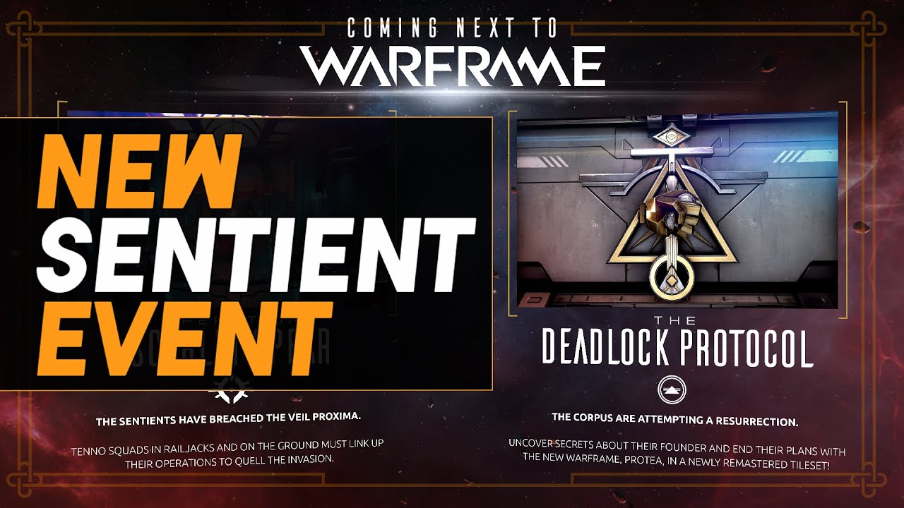 Warframe: New Sentient & Corpus Events & Weapons, Protea Abilities, Squad Link Inbound - Dev 138 thumbnail