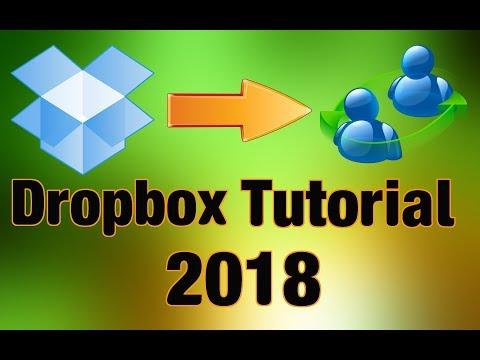 Dropbox Tutorial 2018 (Beginners Guide)