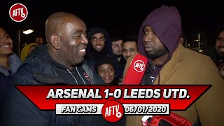 Arsenal 1-0 Leeds United | Sokratis Was Our Man Of The Match!